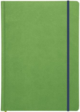 Blok A4 linkovaný New Praga - zelená s gumičkou