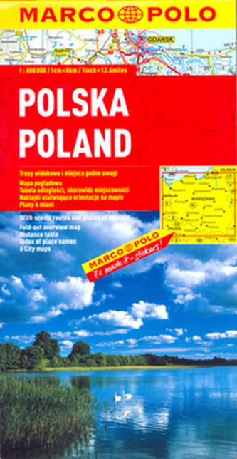 Polsko/mapa 1:800T MD