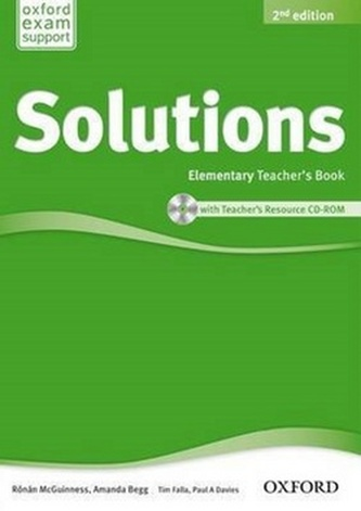 Maturita Solutions Elementary Teacher´s Book with Teacher´s Resource CD ROM 2nd Edition