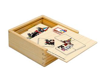 Pohádky - minipuzzle, 16 ks