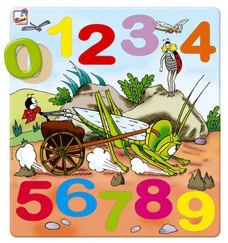 Ferda - puzzle číslice