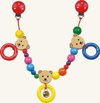 Řetěz do kočárku - 3 medvědi - Trio