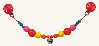 Řetěz do kočárku - korálky - Palla - BINO