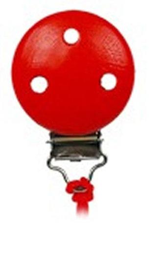 Klip - samostatný - červený (balení obsahuje 10 ks)