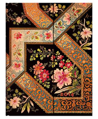 Diář 2014 - Filigree Floral Ebony ultra (12-měsíční vertical)