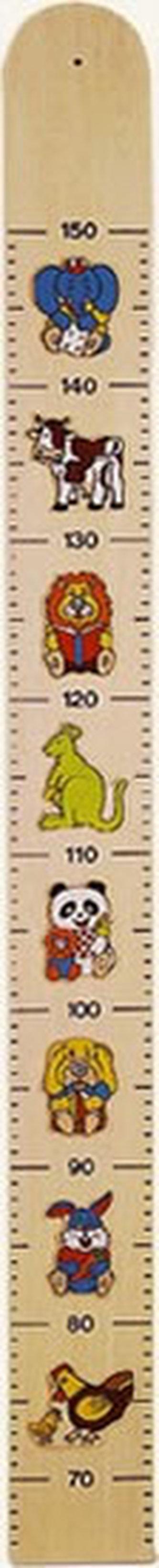 Závěsný metr - exotická zvířata