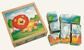 Obráz. kostky - Divoká zvířata, 9 kostek