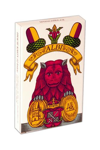 Albi - Mariáš jednohlavé hrací karty