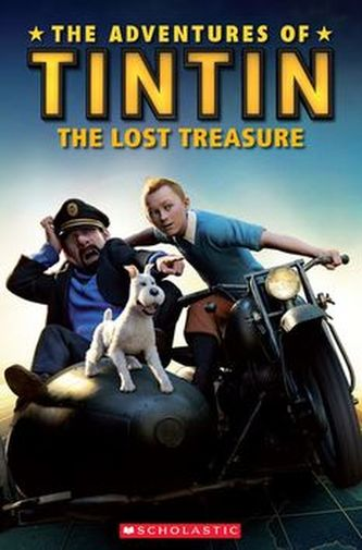 Popcorn ELT Readers 3: The Adventures of Tintin - The Lost Treasure with CD - neuveden