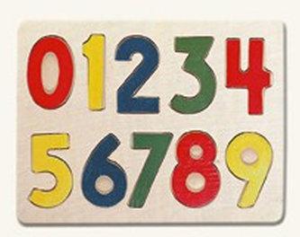 Puzzle - číslice