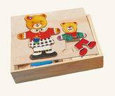 Puzzle šatní skříň - madvědice + medvídek