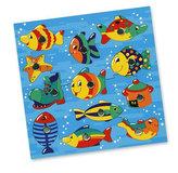 Rybičky ve vodě, magnetická hra, s udičkou