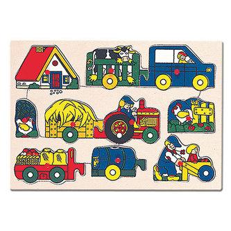 Puzzle - zemědělské stroje