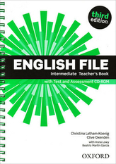 English File Intermediate Teacher´s Book with Test and Assessment CD-ROM