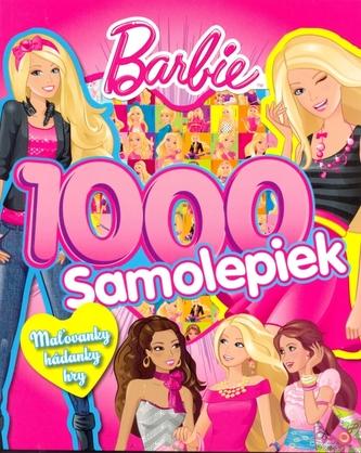 Barbie 1000 samolepiek