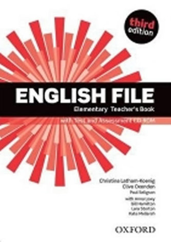 English File Elementary Teacher´s Book with Test and Assessment CD-ROM - Christina Latham-Koenig; C