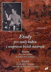 Etudy pro malý buben i soupravu + CD