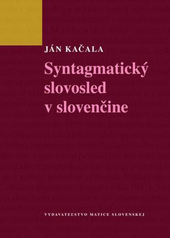 Syntagmatický slovosled v slovenčine