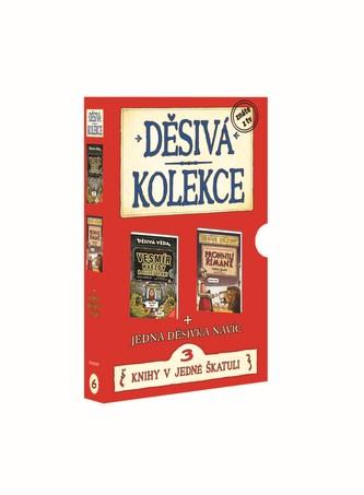 Děsivá kolekce 6 - Vesmír + Římané + titul zdarma - BOX