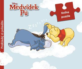 Medvídek Pú - 9 dílná kniha puzzle
