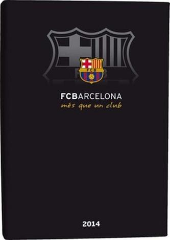 Diář B6 LYRA týdenní FCBarcelona 2014