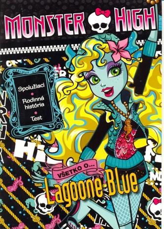 Monster High Všetko o Lagoone Blue