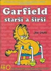 Garfield Starší a širší (č.40)