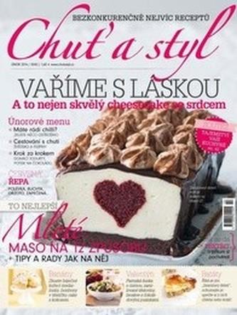 Vzorové číslo časopisu Chuť a styl + sleva 144 Kč na roční předplatné