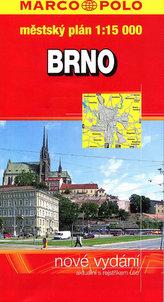 Brno městský plán 1:15000