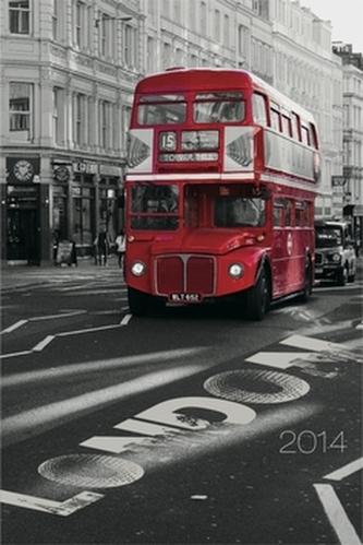 Londýn Jakub Kasl diář 2014