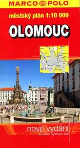 Olomouc městský plán 1:10000