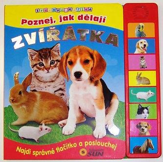 Poznej, jak dělají zvířátka - Zvuková knížka