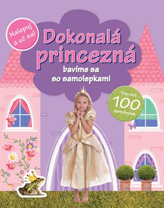 Dokonalá princezná bavíme sa so samolepkami