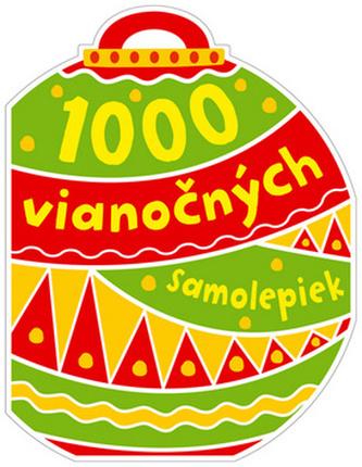 1000 vianočných samolepiek