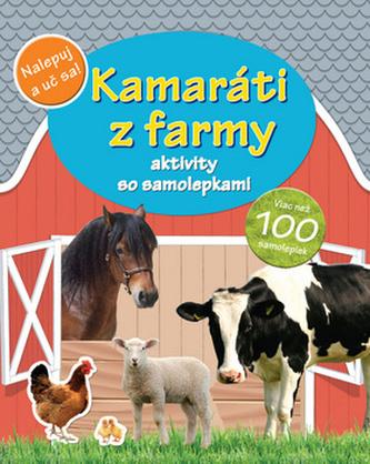 Kamaráti z farmy aktivity so samolepkami
