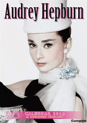 Kalendář 2014 - Audrey Hepburn