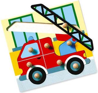 Puzzle - hasiči - MAXI úchytky