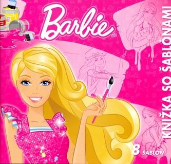 Barbie Knižka so šablonami