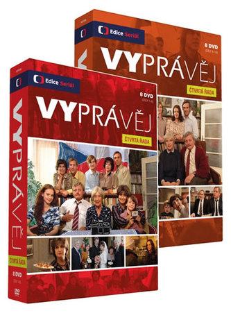 Vyprávěj 4.řada - 16 DVD