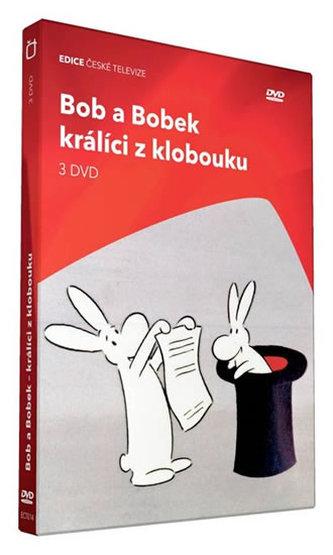 Bob a Bobek, králíci z klobouku - 3 DVD
