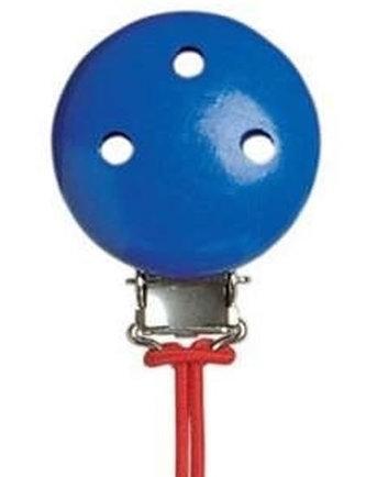 Dřevěný klip - modrý