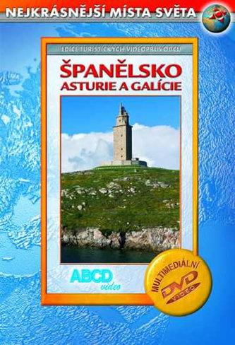 Španělsko - Asturie a Galície DVD - Nekrásnější místa světa