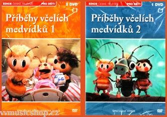Příběhy včelích medvídků - 3 DVD