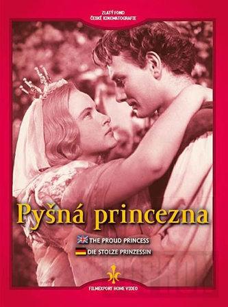 Pyšná princezna - DVD (digipack)