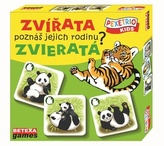 Pexetrio Kids - Zvířata - Poznáš jejich rodinu?