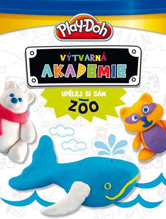 Play-Doh! Výtvarná akademie - Udělej si sám ZOO (Kniha s modelínou)