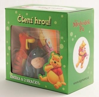 Medvídek Pú-krabička s gumáčkem