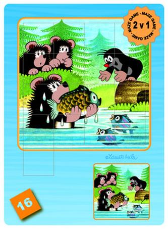 Krtek a medvědi - Maze Game