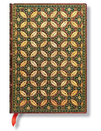 Zápisník - Mosaique Safran Midi 130x180 Lined