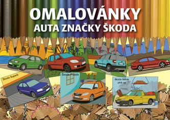 Omalovánky auta značky Škoda